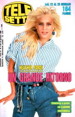 Heather Parisi - Magazine Covers